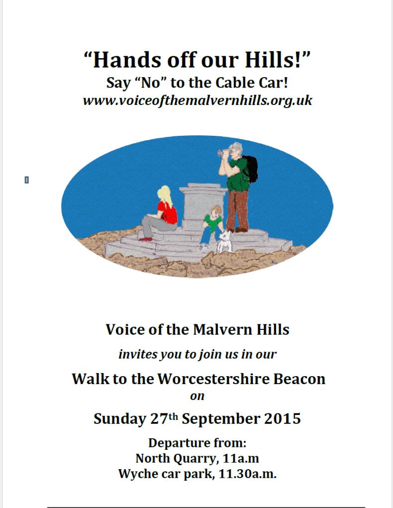 2015 Sept 27 walk poster